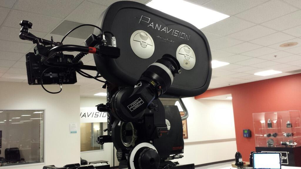 Wanna see one of the custom cameras that will film Star Wars: Episode VII?