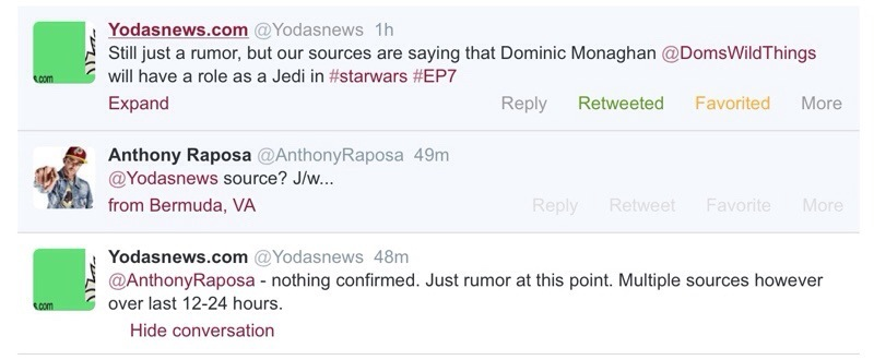 Dominic Monaghan to play a Jedi in Star Wars: Episode VII?