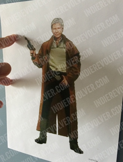 Star Wars: Episode VII Han Solo Costume Concept Art!