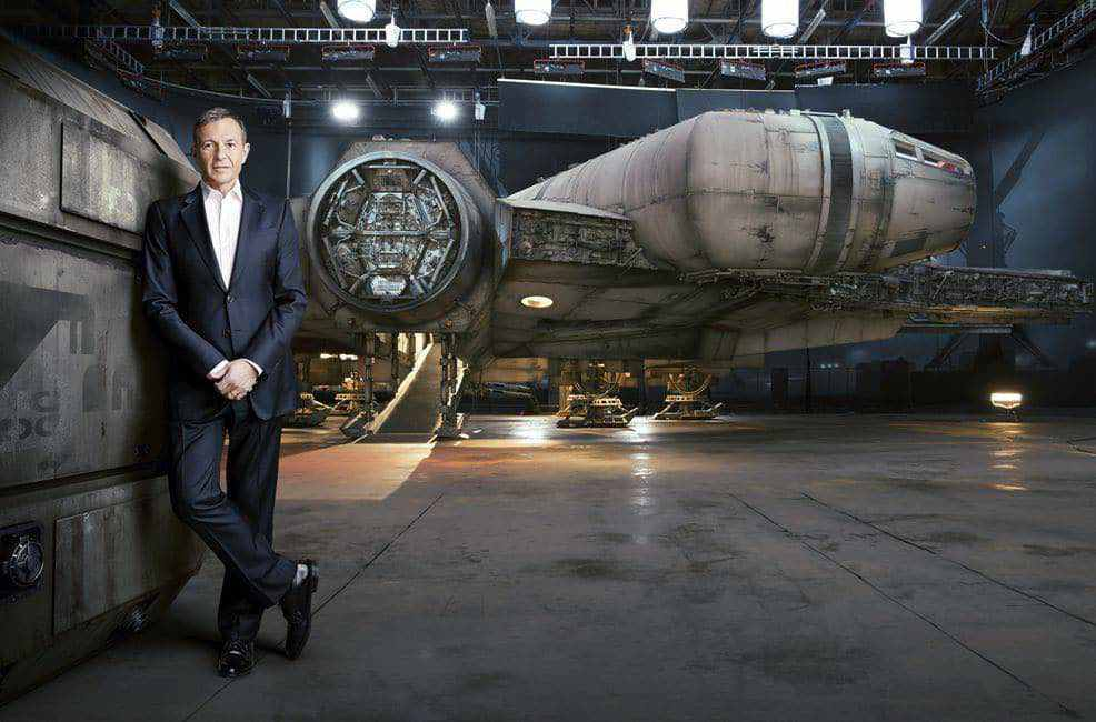 Bob Iger has seen Star Wars: The Force Awakens… mostly.