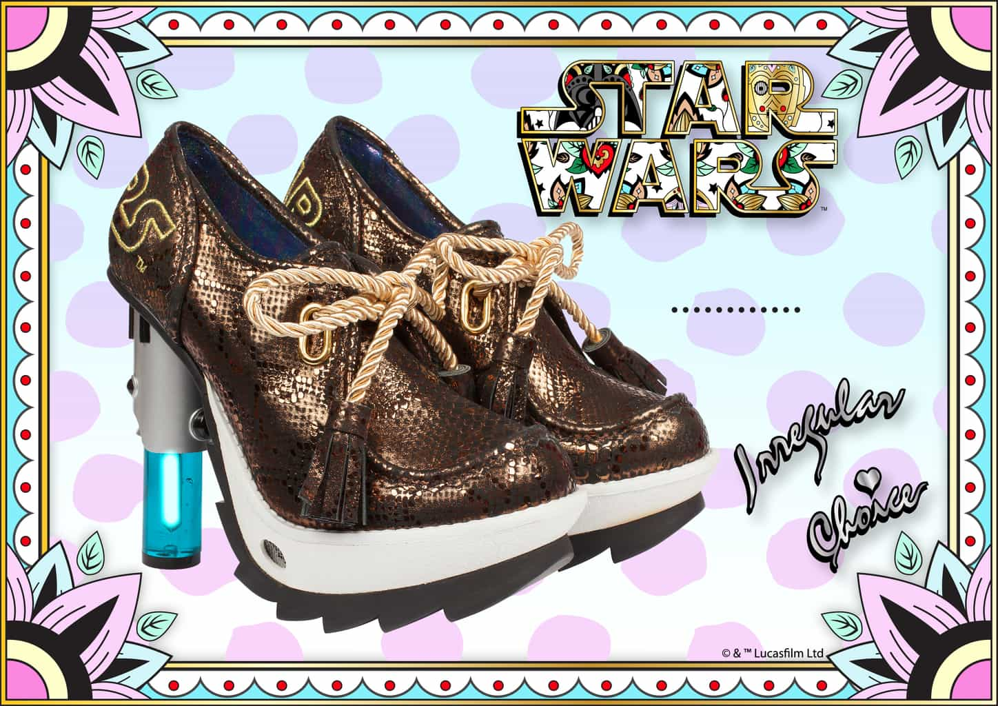Teaser: A Skywalker Shoe from Irregular Choice!