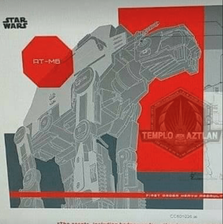 Photos of a Praetorian Guard, Executioner Stormtrooper, and new AT-AT from Star Wars: The Last Jedi!