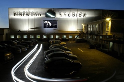 Pinewood Studios goes into lock down!
