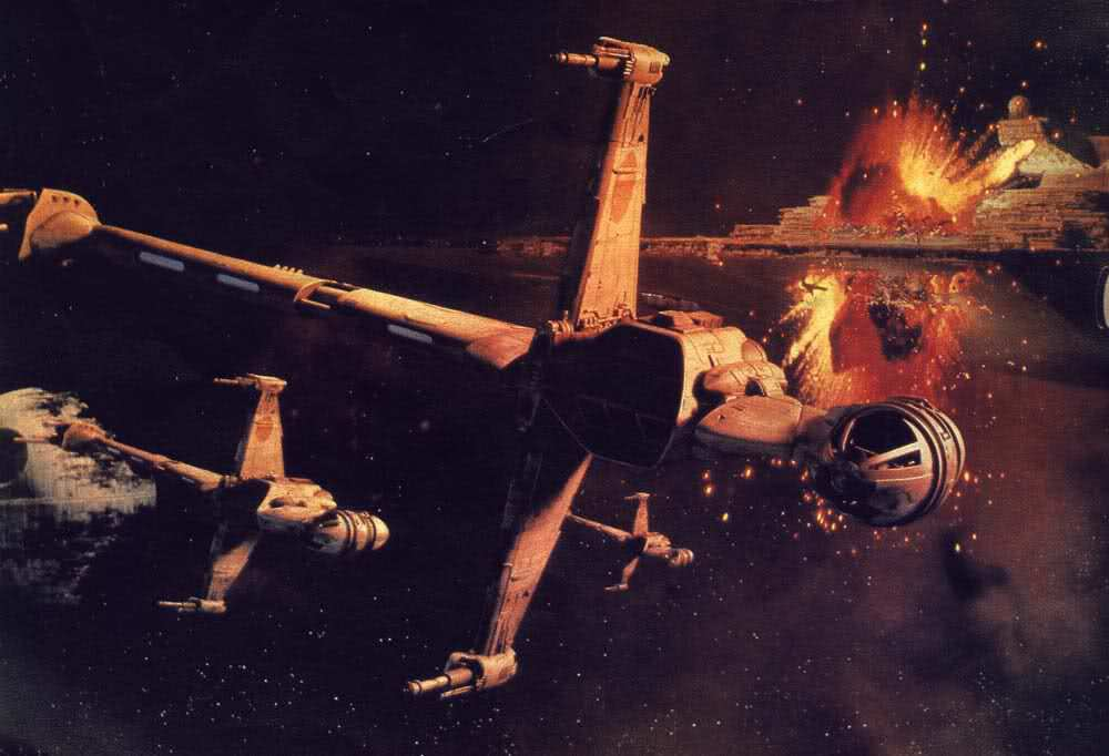Concepts: The Rebel Ships of Star Wars: Episode VII Part 2 The J-wing Fighter!