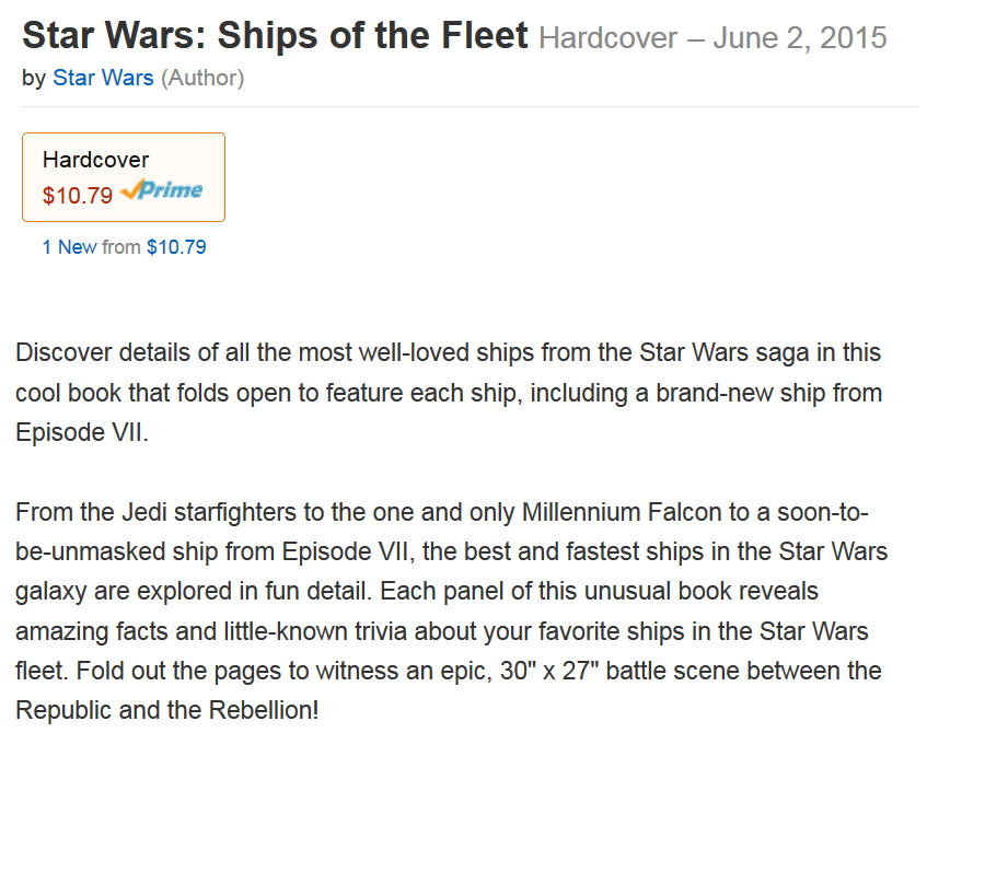 New book to unveil Star Wars: Episode VII Starship!